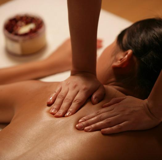 Asian professional massage licenced massage therapist